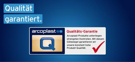 Qualität garantiert.