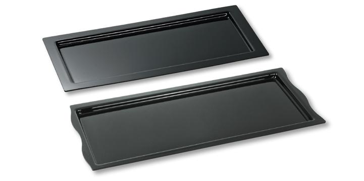 Breitrandplatten und -Schalen