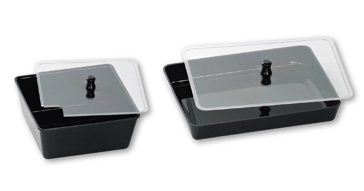 Platteneinsätze transparent