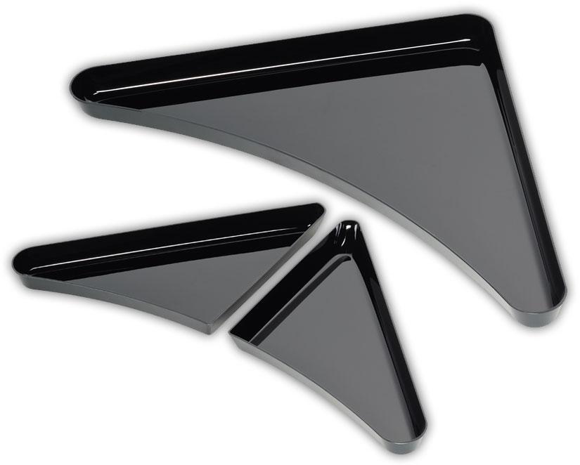 Schale Platte Kreis Eckschale Eckschalen-Set
