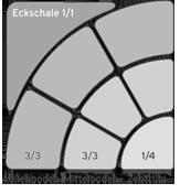 Schalen für Bogen-Sets Schema 01