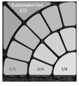 Schalen für Bogen-Sets Schema 02