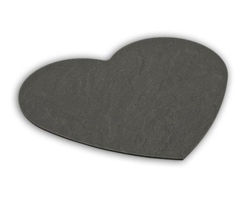 Servierplatte Herz